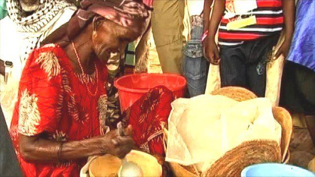 A market in Niger