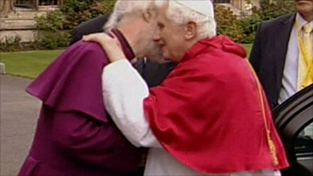 Archbishop of Canterbury and Pope