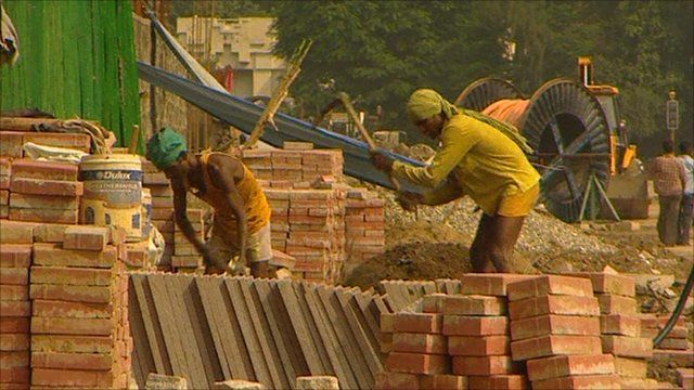 Commonwealth Games construction work