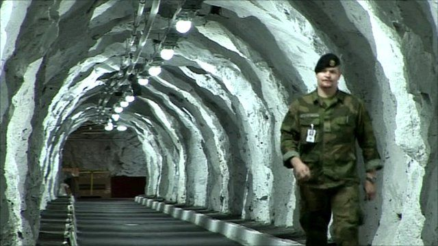 Inside Norway's underground military HQ
