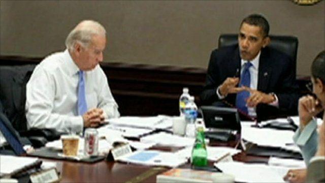 Obama addresses his team