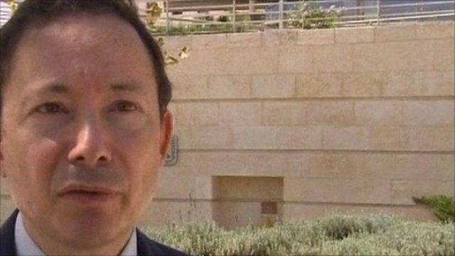 Yigal Palmor, Israeli Foreign Ministry spokesman