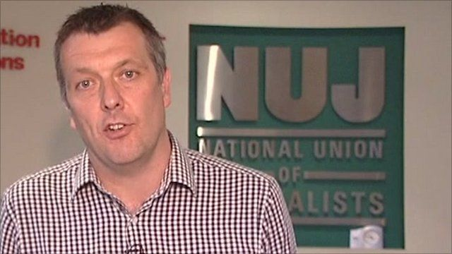 NUJ general secretary Jeremy Dear