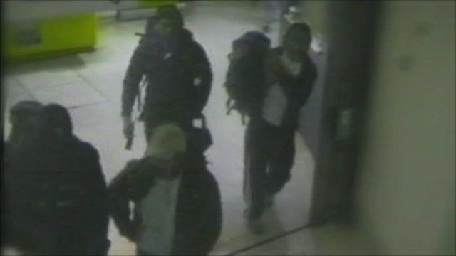 The bombers caught on CCTV