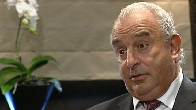 Sir Philip Green, Topshop owner