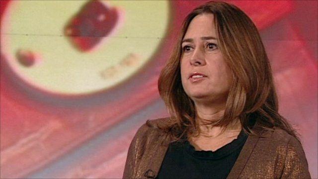 Alexandra Shulman, editor in chief of British Vogue