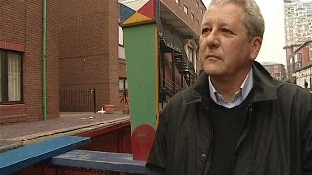 Vince Moran, operations director of British Waterways