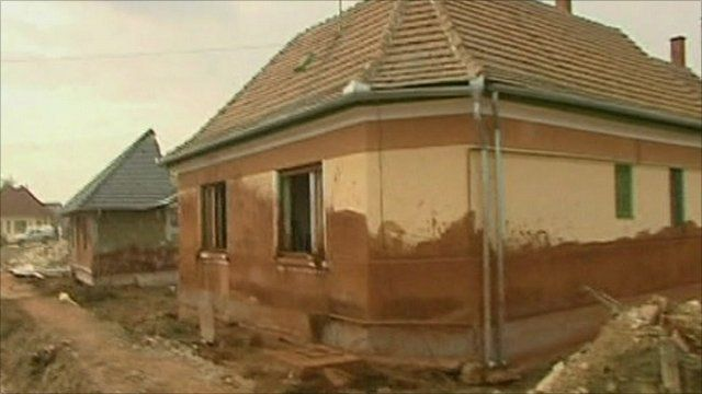 Hungary sludge effected home