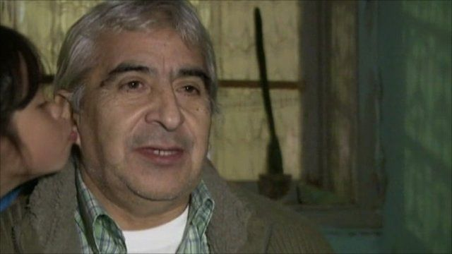 Freed Chilean miner