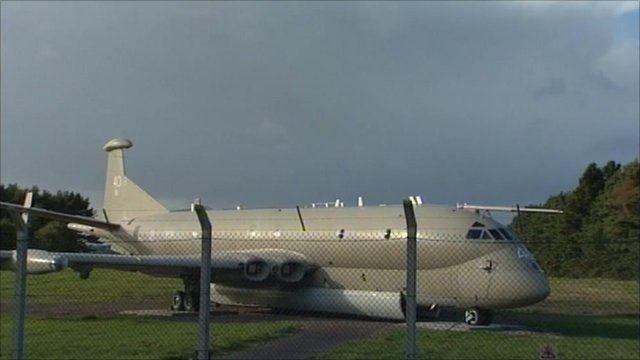 Nimrod aircraft