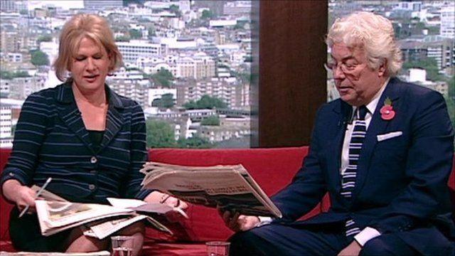 Times columnist Ann Treneman and novelist Ken Follett