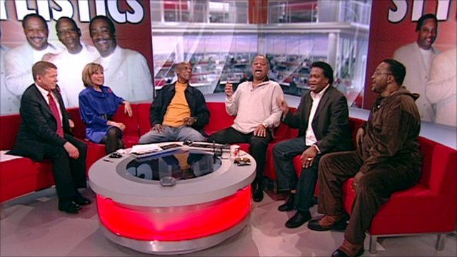 Stylistics play out BBC Breakfast