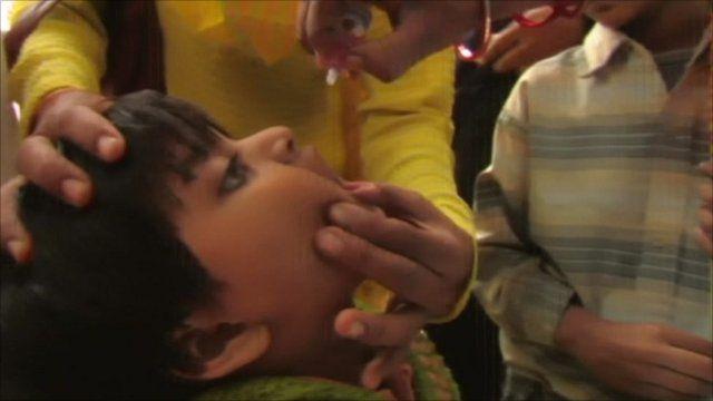 Polio inoculation