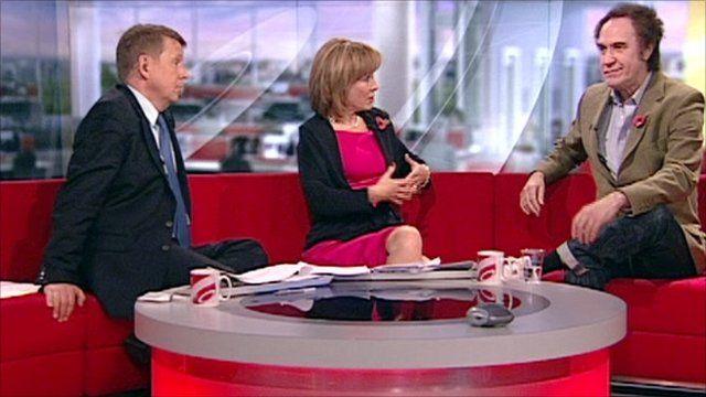 Ray Davies on BBC Breakfast