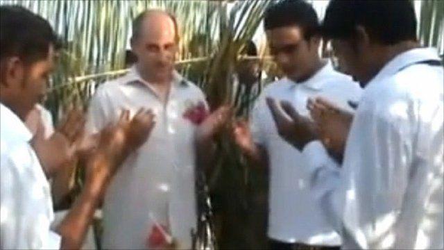 Wedding ceremony in the Maldives