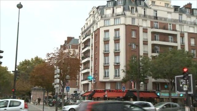 Paris flats where baby fell from