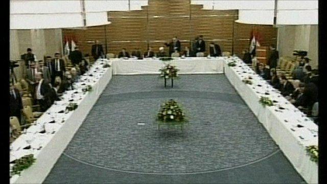 Iraqi leaders in coalition talks