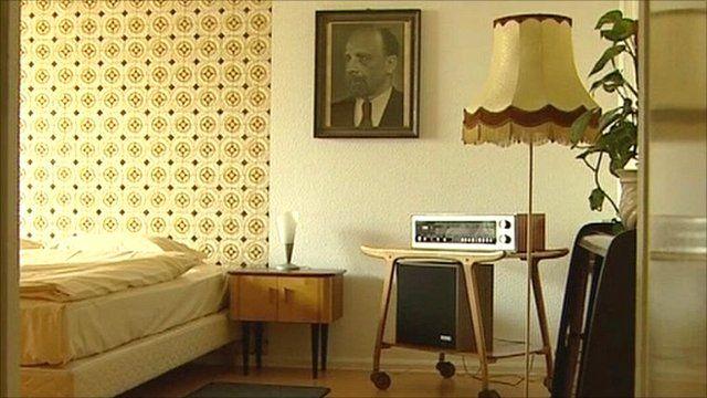 East German Hotel Palast Room