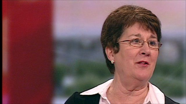Kathy Taylor a lecturer in Trade Union studies at Newcastle College.
