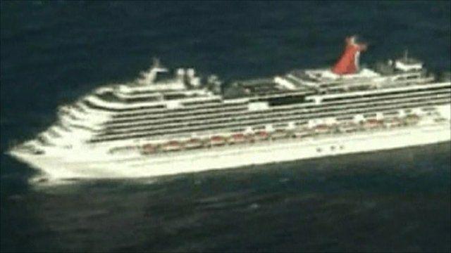 Help Reaches Stranded Carnival Splendor Cruise Ship BBC News - Pictures of carnival splendor cruise ship