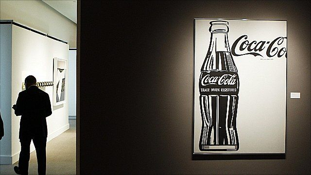 Andy Warhol painting