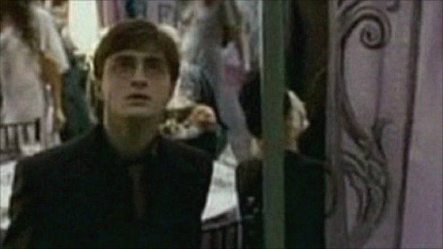 Daniel Radcliffe starring as Harry Potter