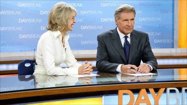 Diane Keaton and Harrison Ford
