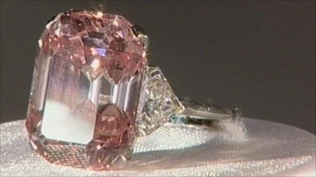 The pink diamond