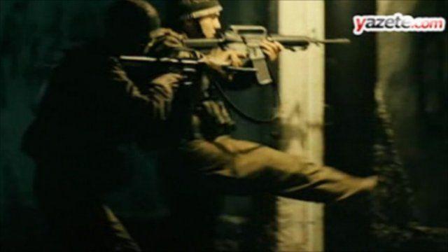 Action movie on Israeli raid on Gaza aid ship