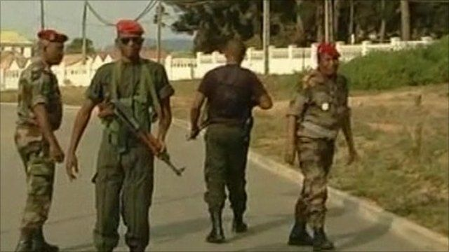 Madagascan soldiers involved in coup