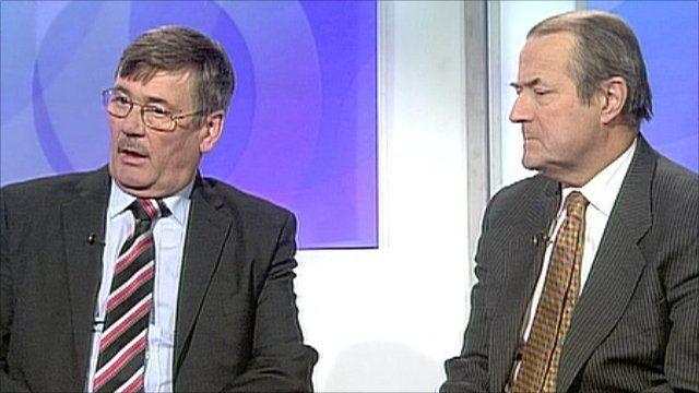 Bob Ainsworth and Sir Richard Dalton