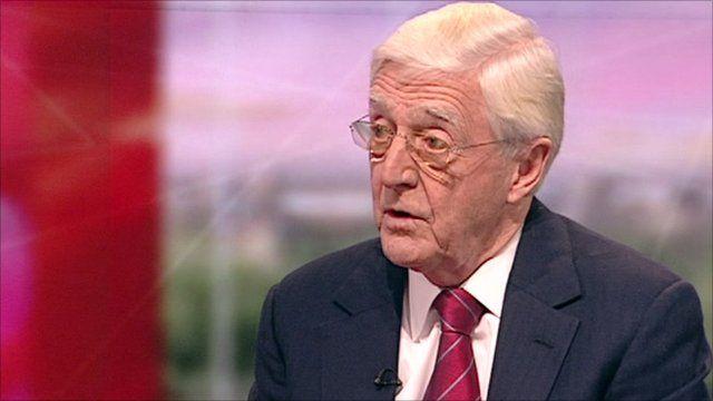 Michael Parkinson on BBC Breakfast