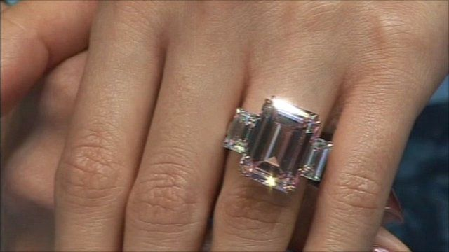 The 'perfect pink' diamond