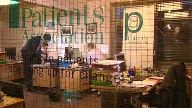 Patients Association office