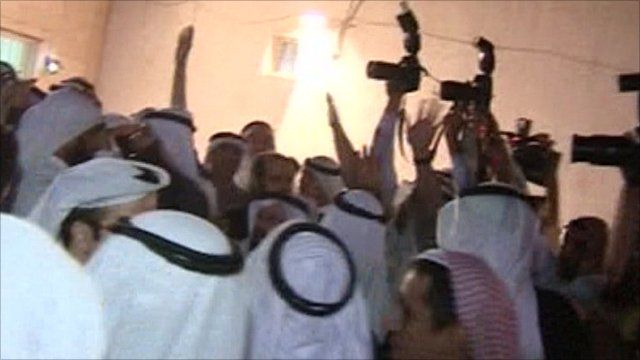 Clashes break out at Kuwait City rally