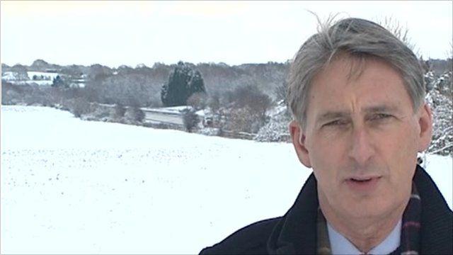 Transport Secretary Philip Hammond