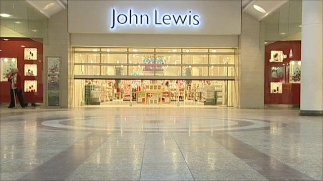John Lewis at Cribbs Causeway is empty