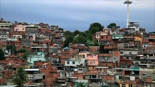 Complexo do Alemao use to be one known as of the dangerous slums in Rio
