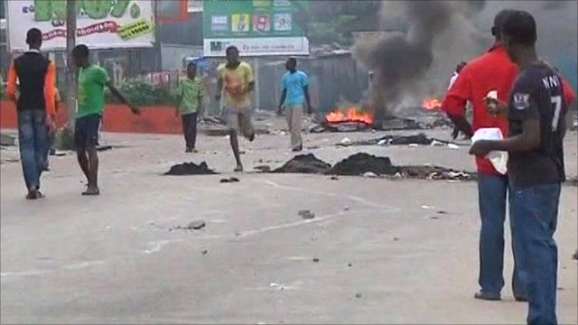 Conflict in Ivory Coast