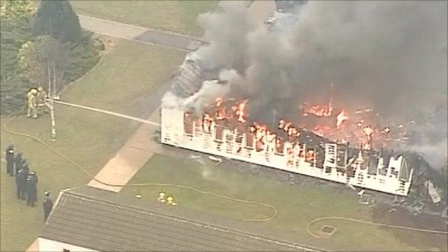 Fire at Ford prison