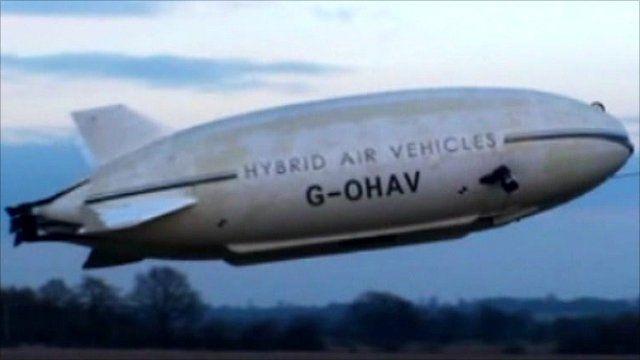 A Hybrid Air Vehicle