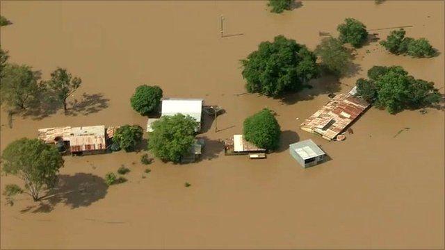 Flooding in Queensland, Australia