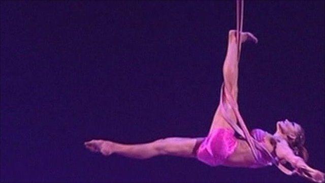 Cirque du Soleil in action