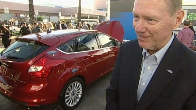 Ford chief executive Alan Mulally