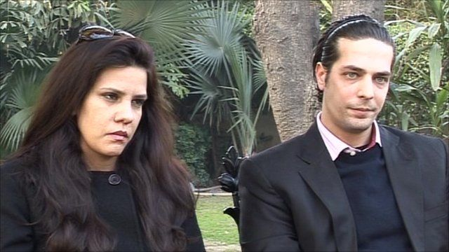 Image result for sara taseer with his father
