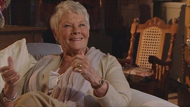 Miraculous Dame Judi Dench Clint Eastwood Phoned Me Yesterday Bbc News Short Hairstyles For Black Women Fulllsitofus
