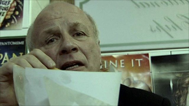 Greg Dyke and chips