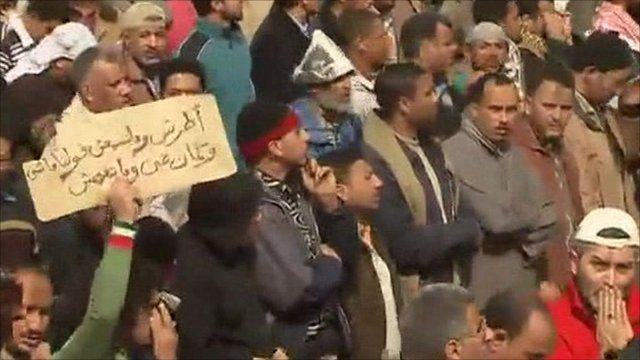 Tahrir Square protests
