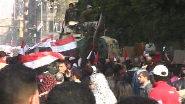 Tahrir Square in Cairo