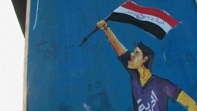 Painting on Cairo wall